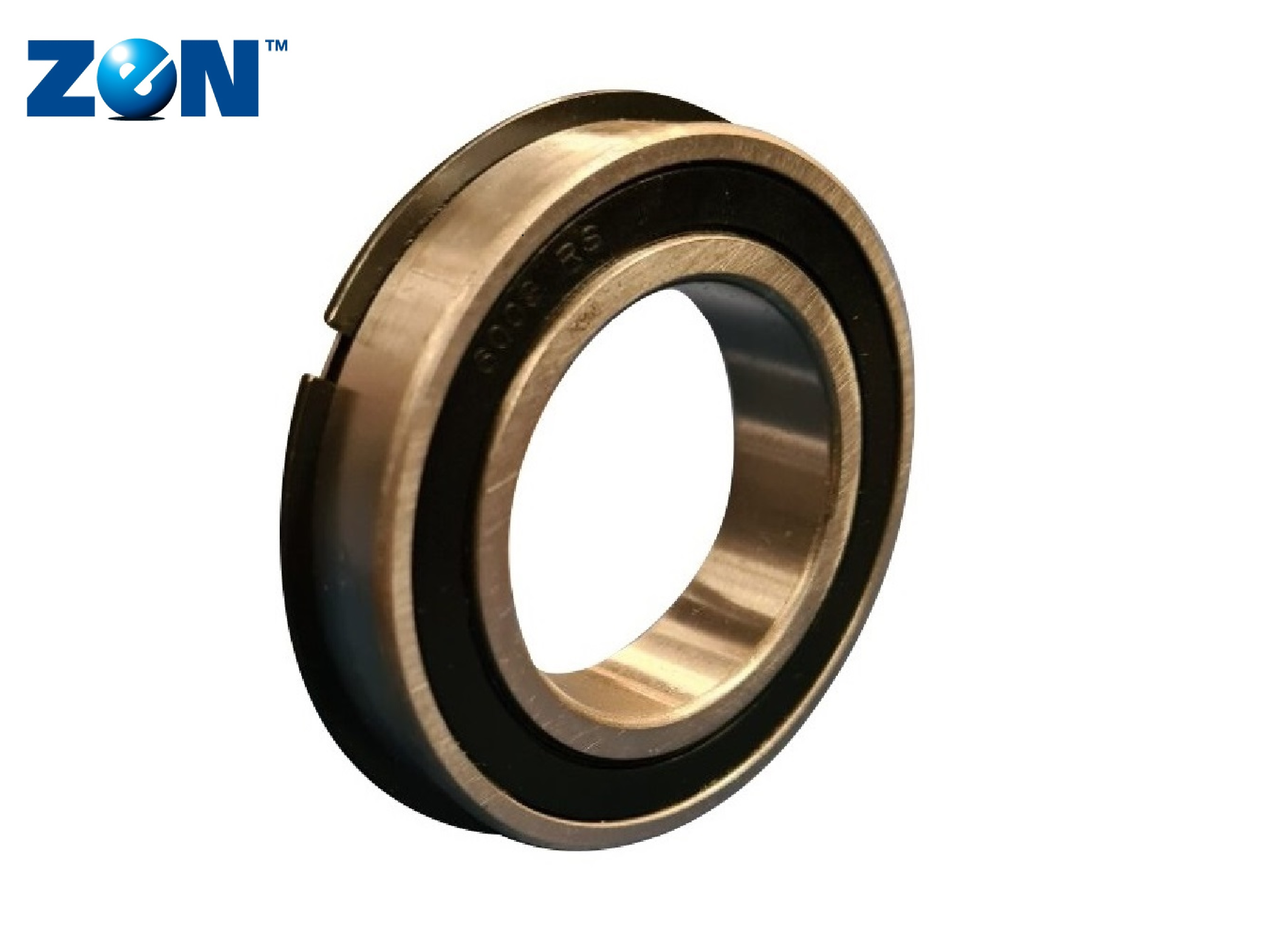 ZEN 6206-2RS-NR Sealed Ball Bearing With Snap Ring 30mm x 62mm x 16mm