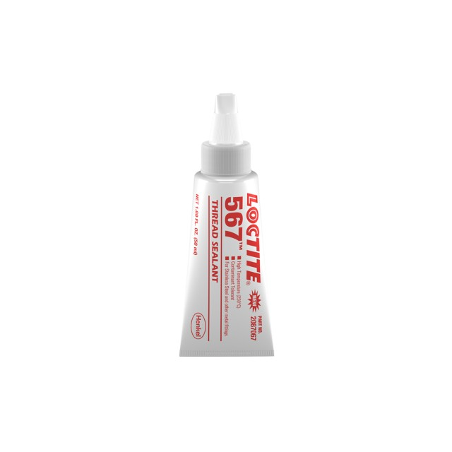 Loctite 567 x 50ml Low Strength Stainless SteelThread Sealant