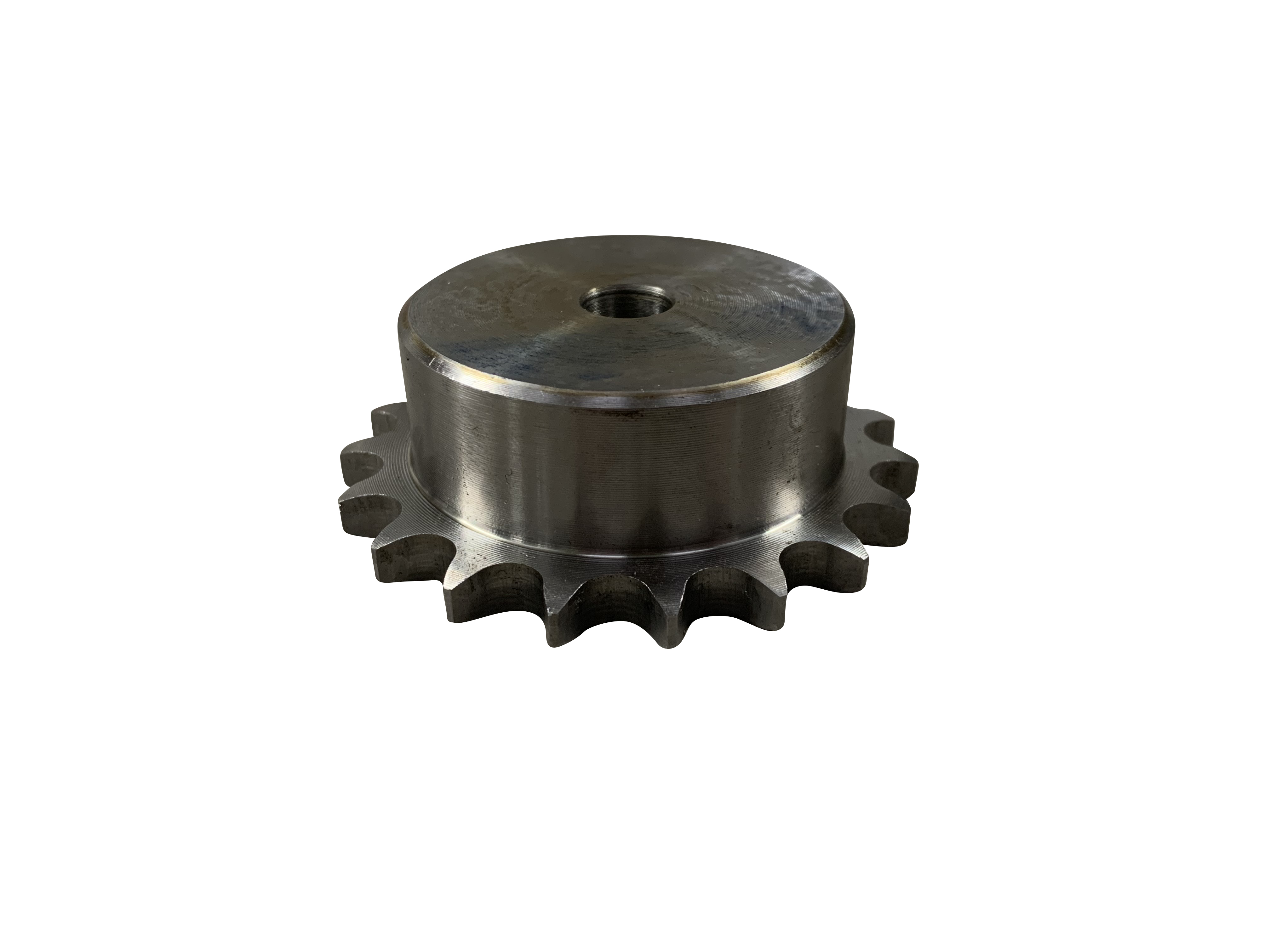 45 Tooth 8mm Steel Roller Chain Simplex Sprocket Pilot Bore 05B-1-45