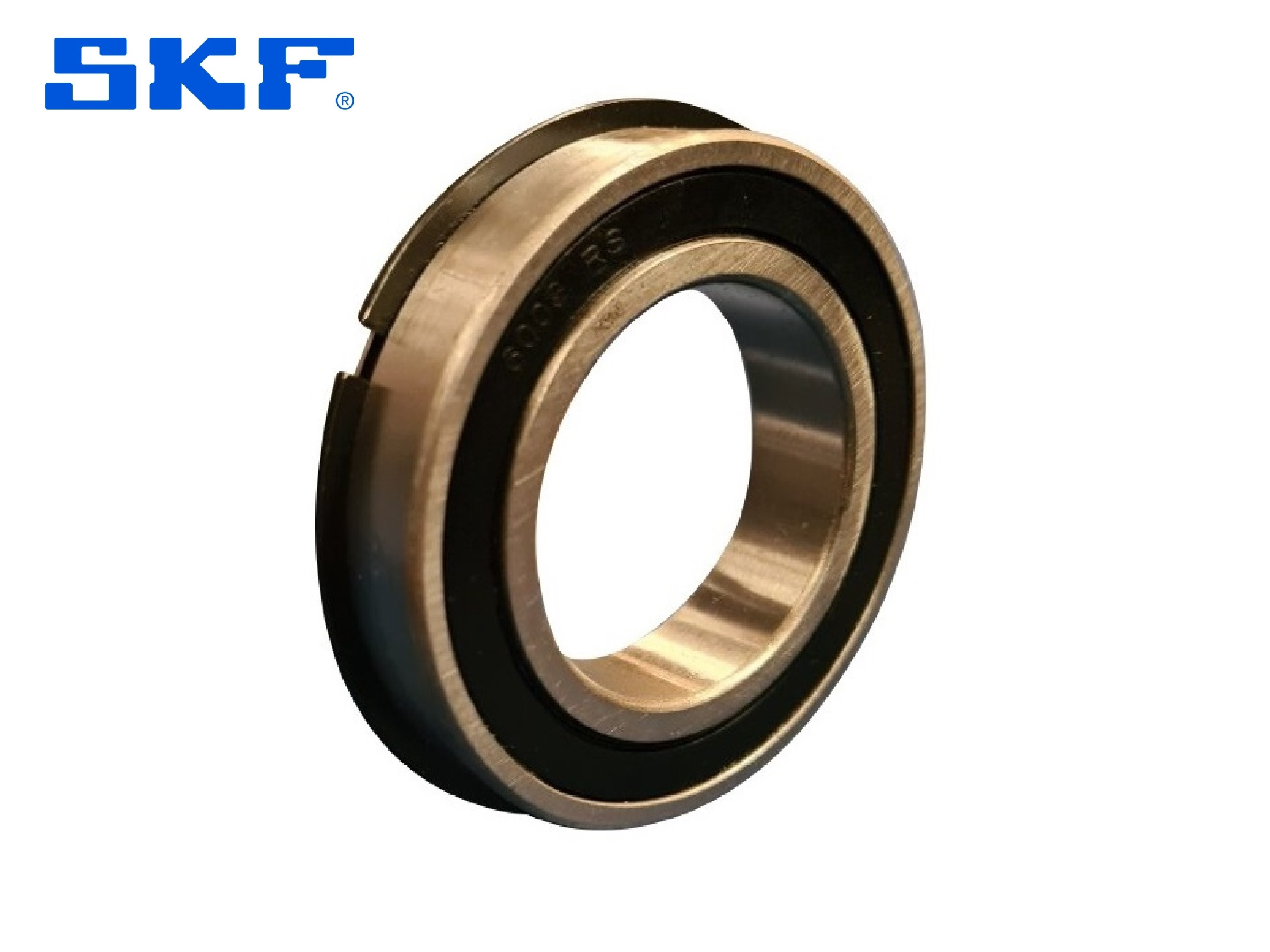 SKF 6211-2RS1NR Sealed Ball Bearing With Snap Ring 55mm x 100mm x 21mm