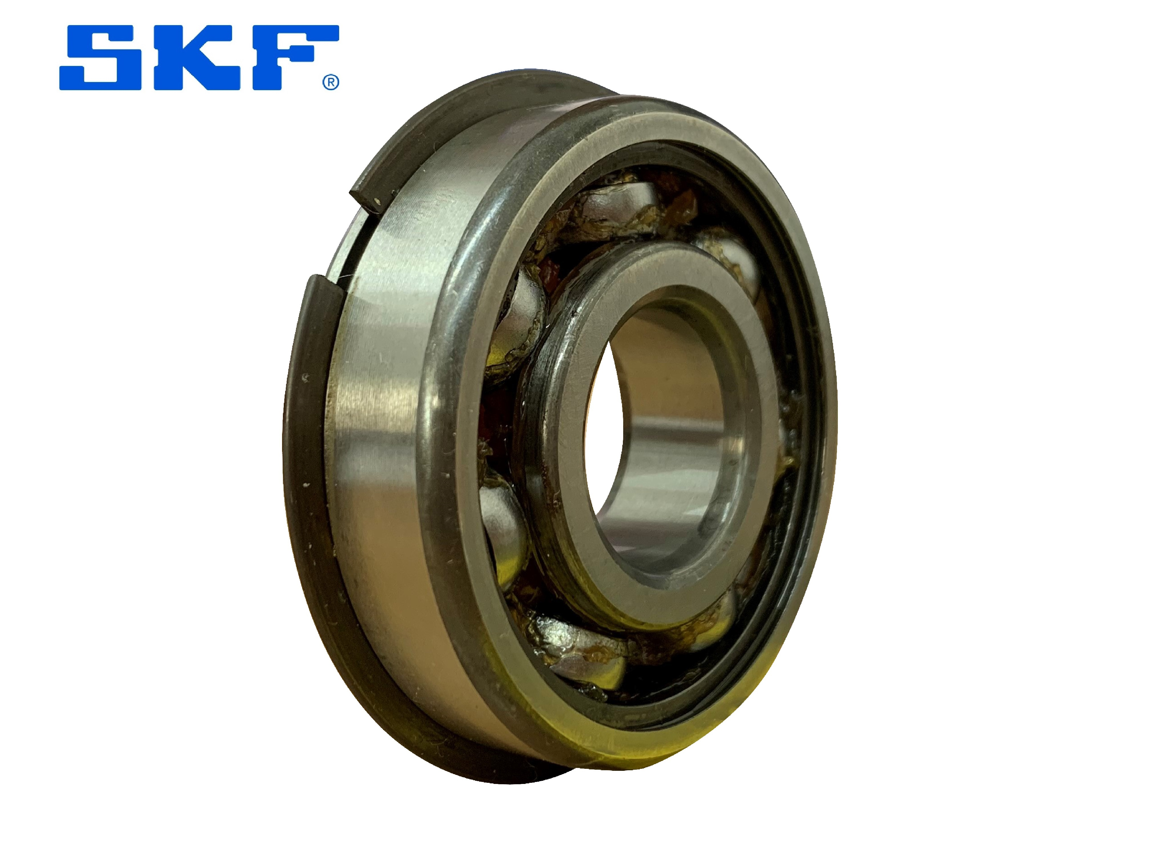 SKF 6217NR Open Ball Bearing With Snap Ring 85mm x 150mm x 28mm